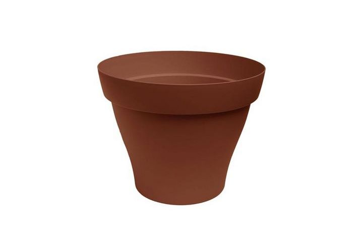 Pot plastique Roméo terre  D30cm