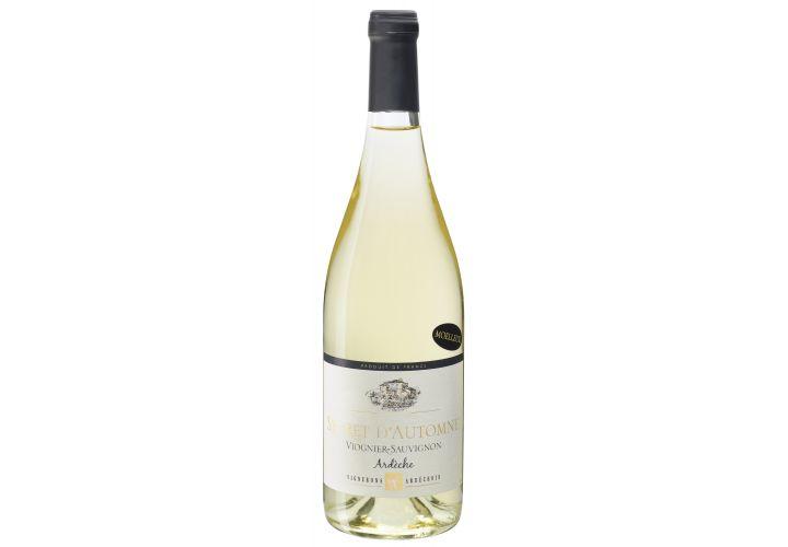 Vin blanc Ardèche secrêt d'automne 75cl