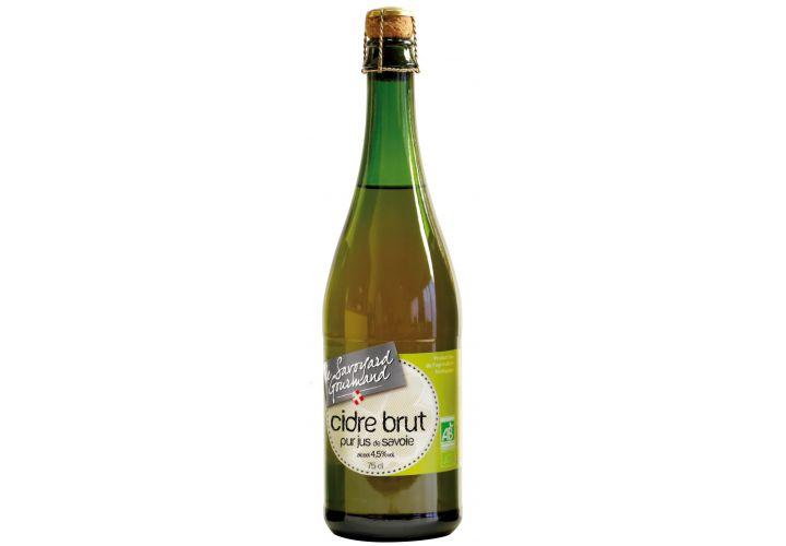 Cidre brut de Savoie bio 75cl