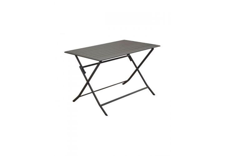 TABLE ALU GREY 110X70 PROLOISIRS