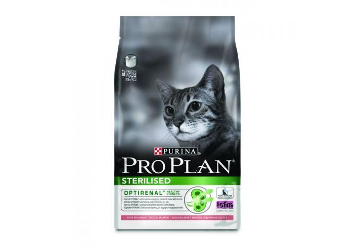 Croquette chat stéri saumon 3kg Proplan