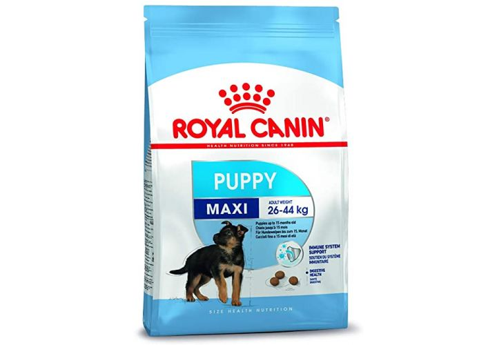 Croquette chien maxi jun 4kg Royal Canin