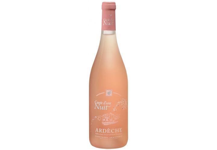 Vin rosé cuvée d'une nuit 75cl