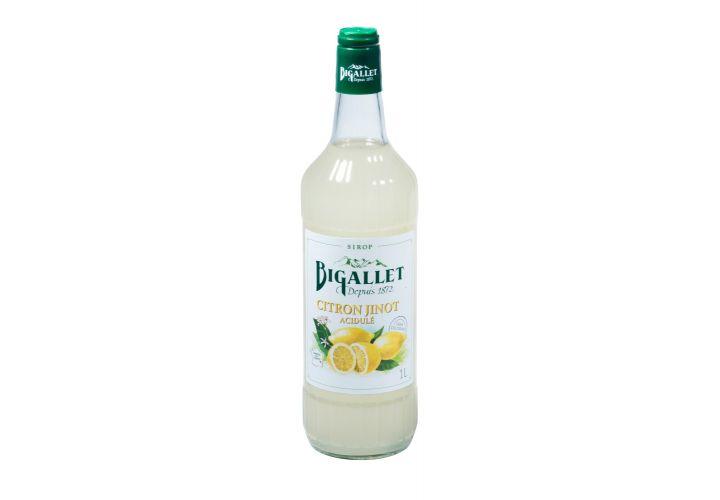 Sirop jinot citron 1L Bigallet