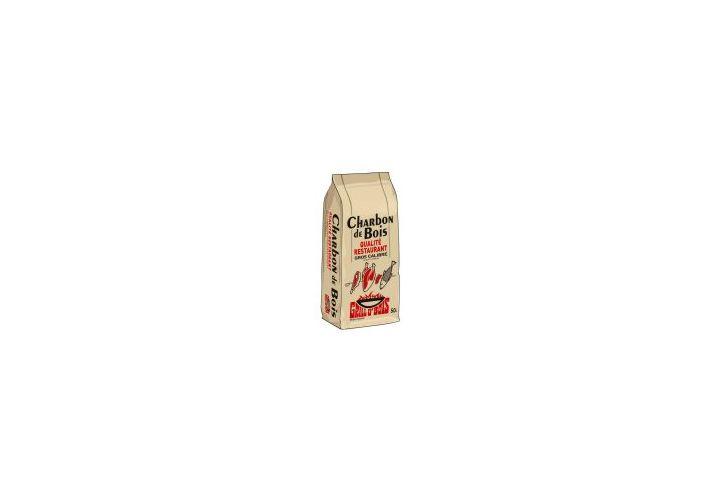 Charbon de bois qualité resto sac 50l