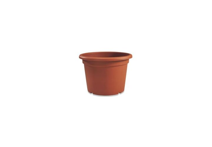 Pot cylindrique Florio terre D25cm