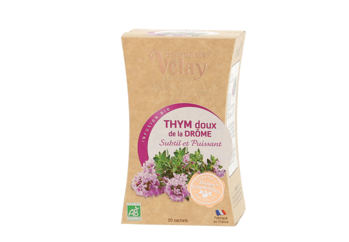 Infusion thym doux Drôme bio Pages