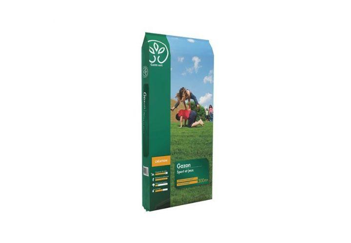 Gazon sport/jeux + engr. 10kg Gamm Vert
