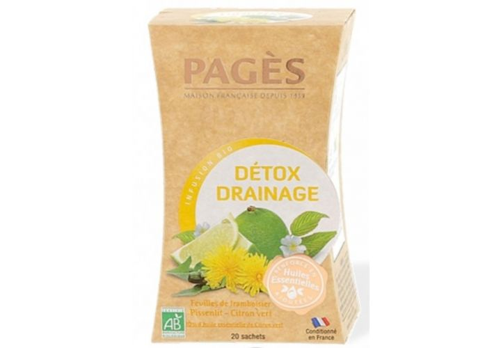 Infusion detox drainage Pages