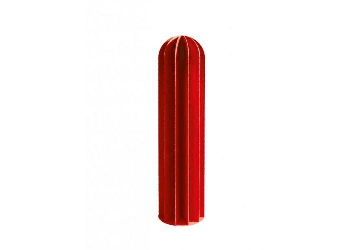Cactus métal rouge H100cm