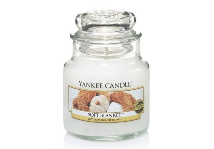 Bougie couverture douce Yankee Candle