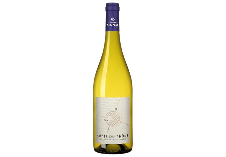 Côtes du Rhône blanc Elements Terra 75cl