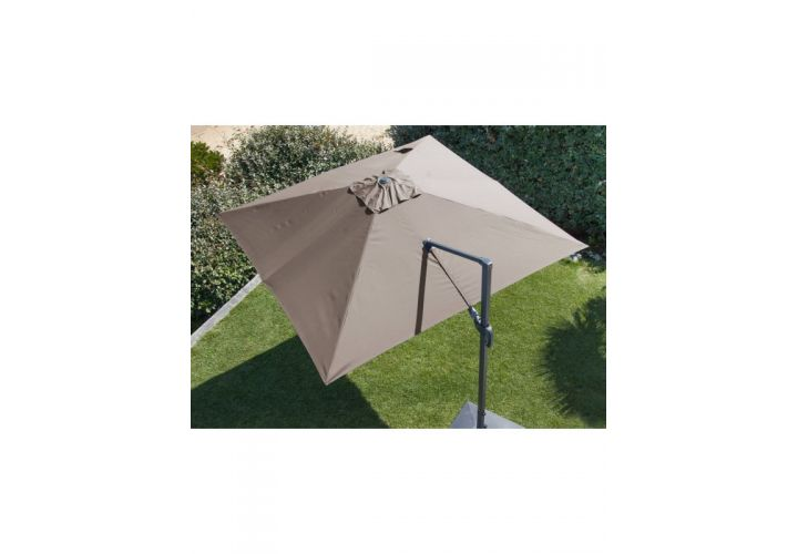 PARASOL DEPORT ORIENTABLE NH 3X3 TAUPE