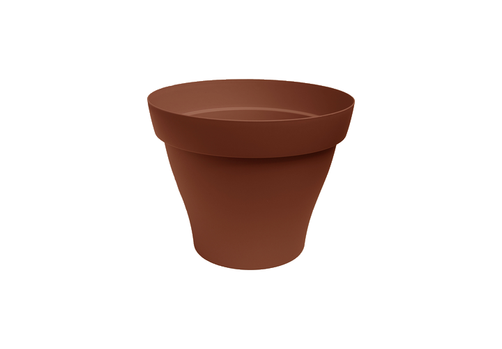 Pot plastique Roméo terre D25cm