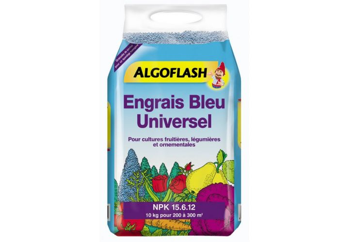 Engrais bleu universel 10kg Algoflash