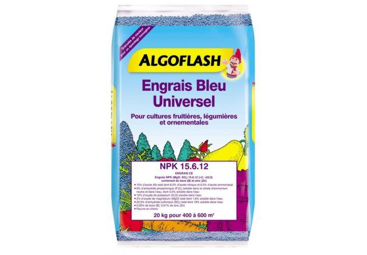 Engrais bleu universel 20kg Algoflash