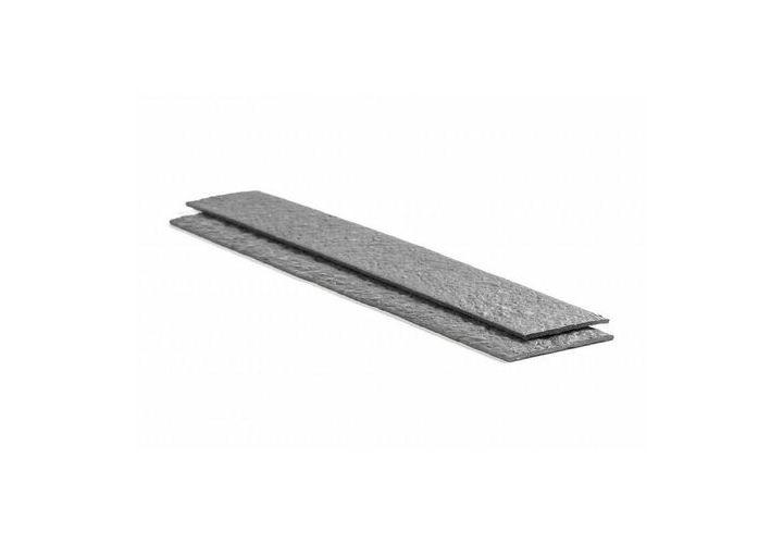 Bordure droite ecolat gris 120cmx14cm