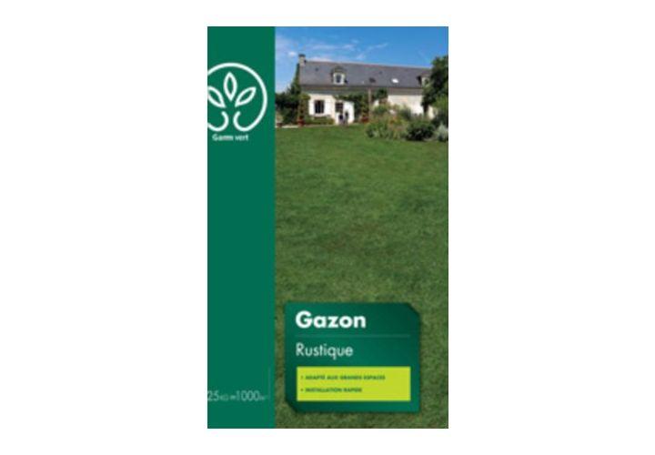Gazon Rustique 25kg Gamm Vert