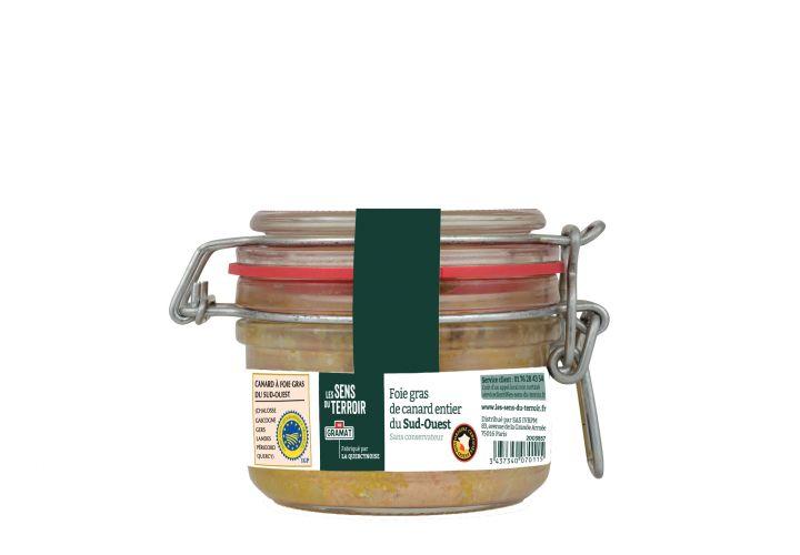 Foie gras canard IGP 130g