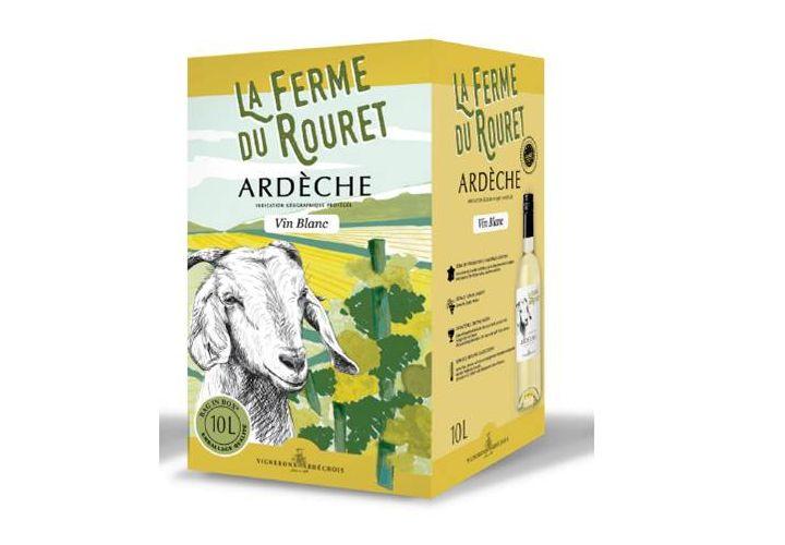 Bag in box Vin blanc IGP Ardèche 10l