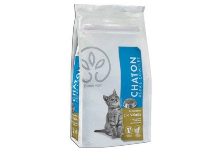 Croquette chaton 1,5kg Gamm Vert