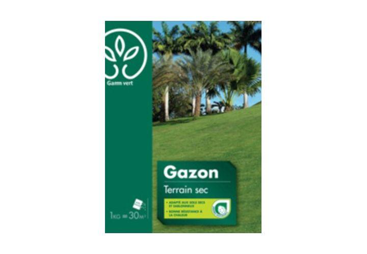 Gazon Terrain sec 1kg Gamm Vert