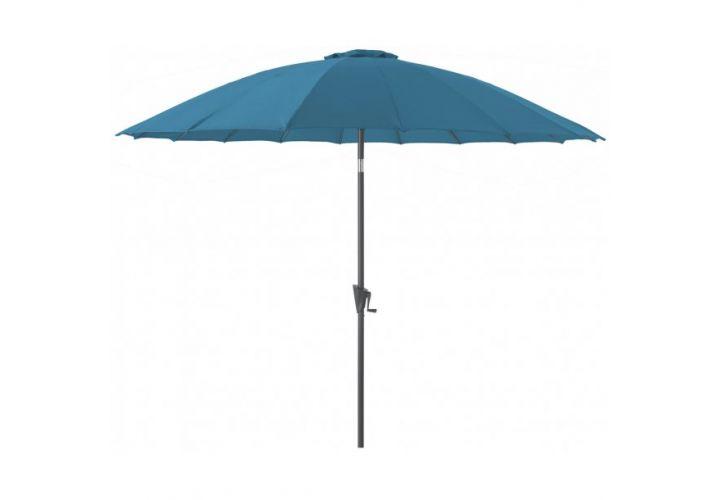 Parasol pagode D300 bleu Proloisirs