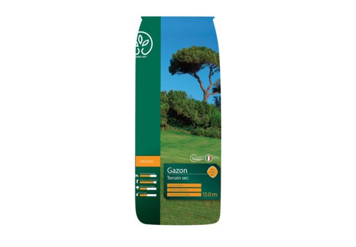 Gazon Terrain sec 5kg Gamm Vert
