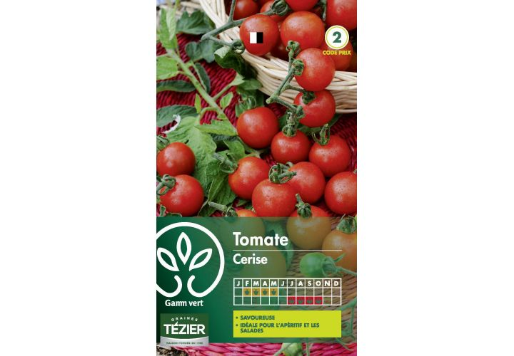 Gr. tomate cerise Gamm Vert