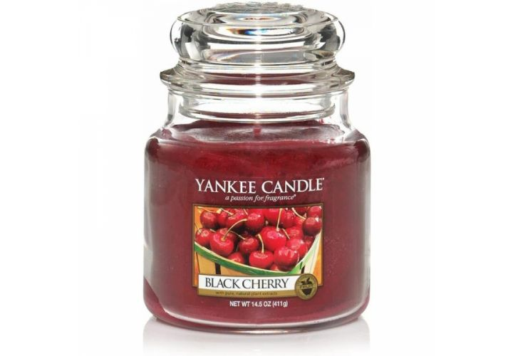 Bougie cerise griotte Yankee Candle