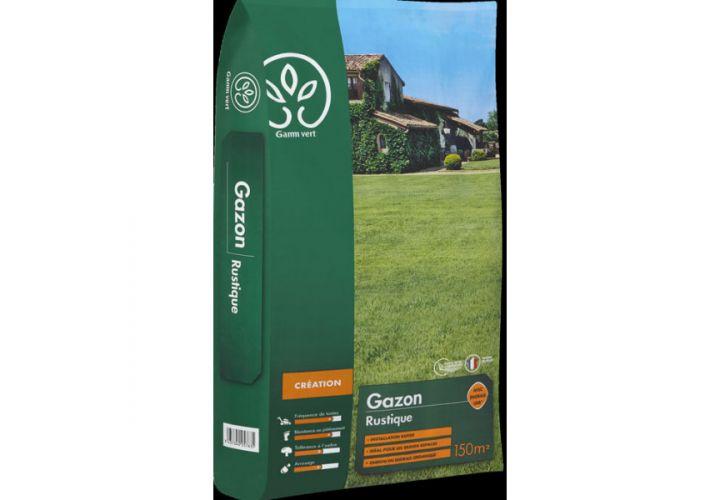 Gazon Rustique + engrais 5kg Gamm Vert