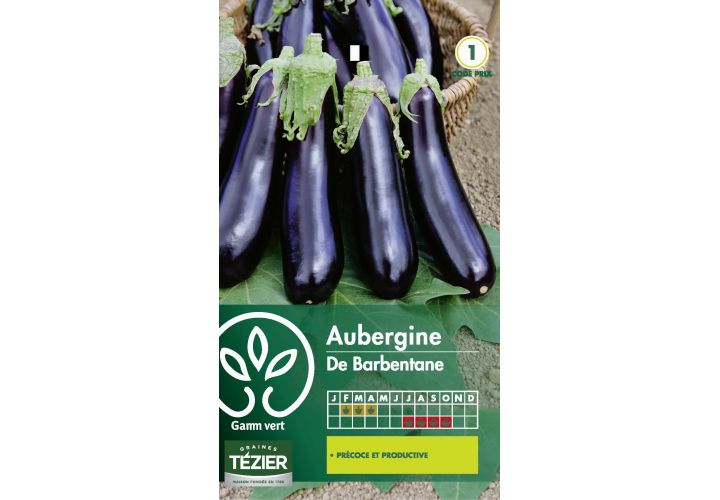 Gr. aubergine barbantane Gamm Vert