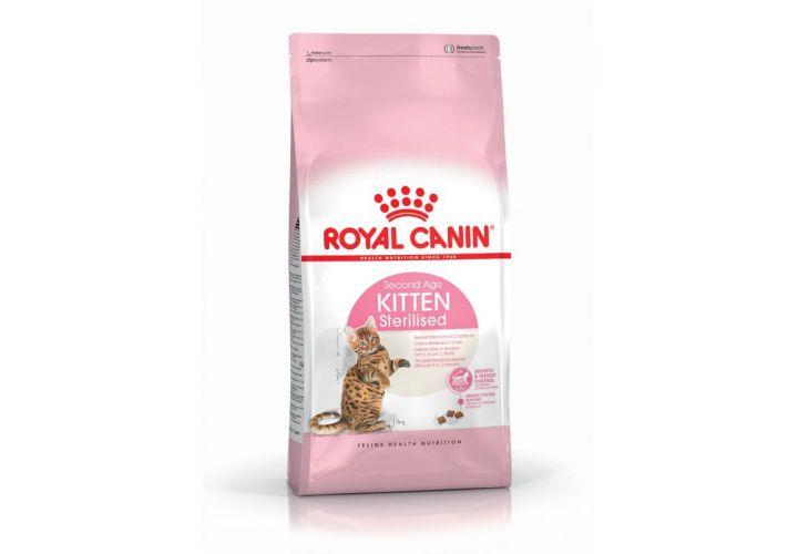 Croquette chat kit stéri 2kg Royal Canin