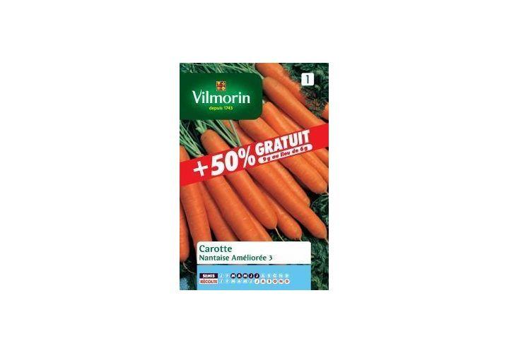 Gr. carotte nantaise améliorée Vilmorin