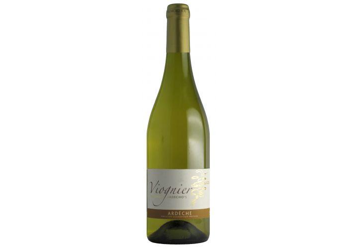 Vin blanc Viognier Côteaux Ardèche 75CL