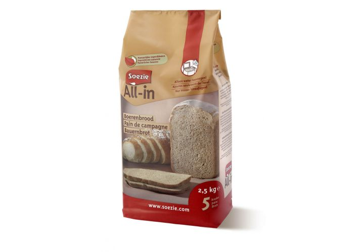 Farine All-in pain campagne 2,5kg Soezie