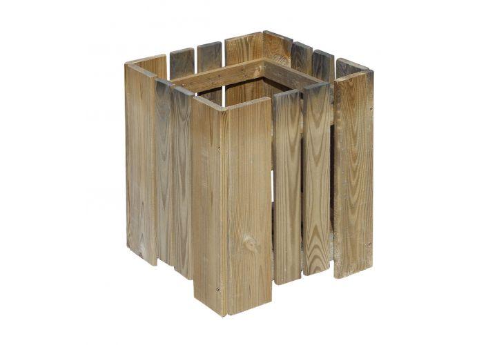 Bac bois carré Rak 33x33x37cm Burger