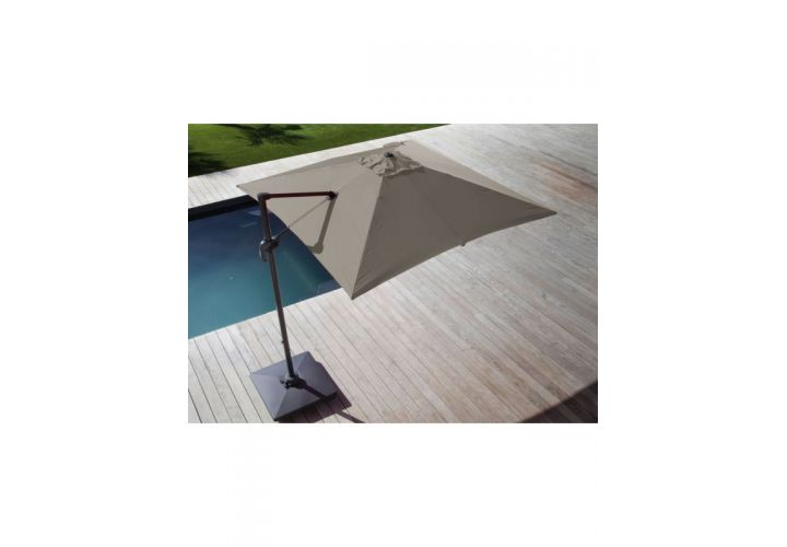 PARASOL DEPORT 3X3 ROMA TAUPE PROLOISIRS