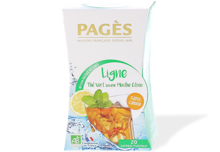 Infusion glacée zen Pages