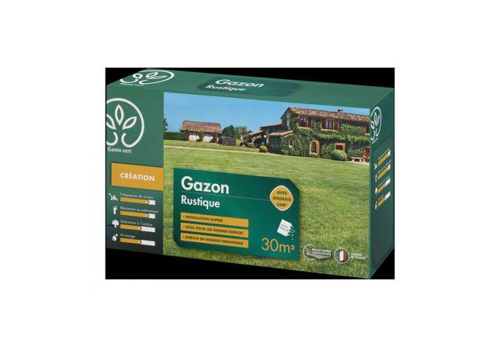 Gazon Rustique + engrais 1kg Gamm Vert