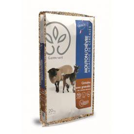 Aliment mouton/chèvre mélange 20kg GV