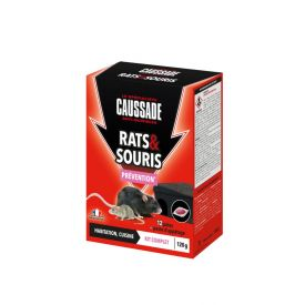 Raticide souricide pâte 100g Caussade
