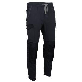 Pantalon molleton Techno Gris/Noir LMA