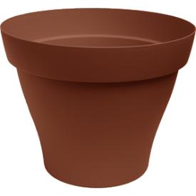 Pot plastique Roméo terre D35cm