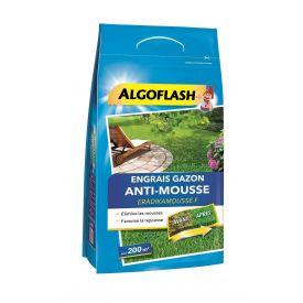 ENGRAIS GAZON ANTI-MOUSSE ALGOFLASH 6KG