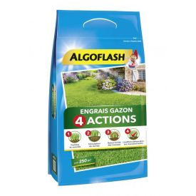 Engrais gazon 4 actions 10kg Algoflash