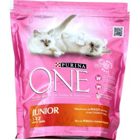 Croquette chat junior 1,5kg purina one