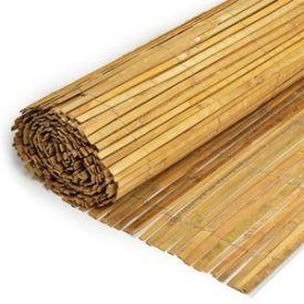 Canisse latte bambou naturel 1,5x5m