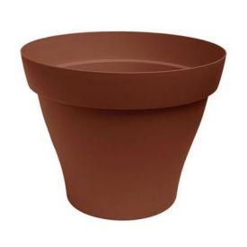 Pot plastique Roméo terre D50cm