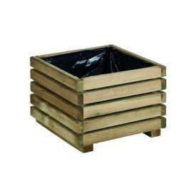 Bac bois carré Kub 40x40x28cm Burger